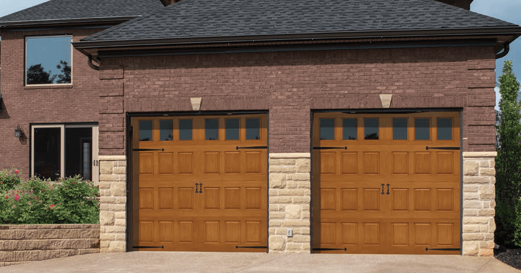 Impression collection gallery overhead door so cal for Wood grain garage doors