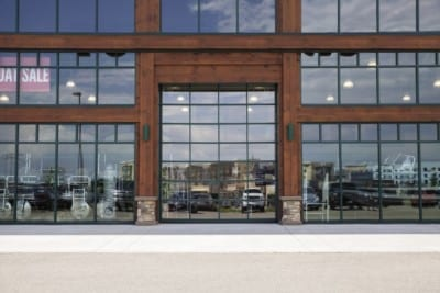 Aluminum Glass Garage Door Gallery – Overhead Door Company of Southern California, San Diego